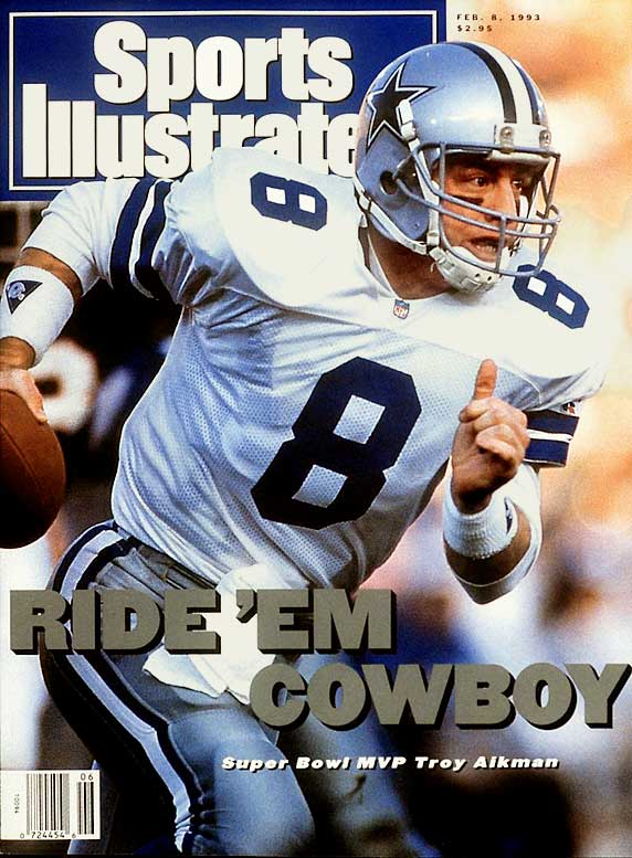 As the trigger man for the Cowboys dynastic teams in the 1990s, Hall of Famer Aikman led the team to three Super Bowl titles.Runner-up: Steve YoungWorthy of consideration: Mark Brunell, Ray Guy, Archie Manning, Davey O'Brien, Larry Wilson