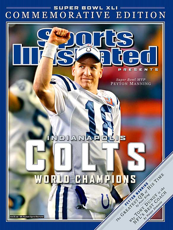 When his career concludes sometime this decade, Manning will likely hold every major NFL passing record. He's a four-time MVP who has completed 4,232 of 6,531 passes for 50,128 yards.Runner-up: Charlie JoinerWorthy of consideration: Roman Gabriel, Emmitt Thomas, Gene Washington