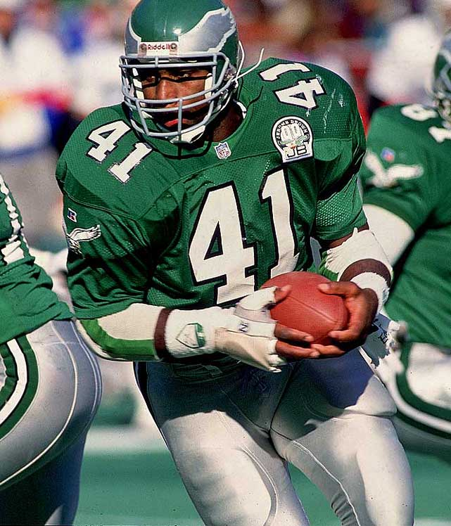 A fullback with soft hands and precious route-running, Byars had 610 career receptions for 5,661 yards and 54 touchdowns during his 13-year career.Runner-up: Lorenzo NealWorthy of consideration: Tom Matte, Terence Newman, Matt Snell, Eugene Robinson, Charlie Waters