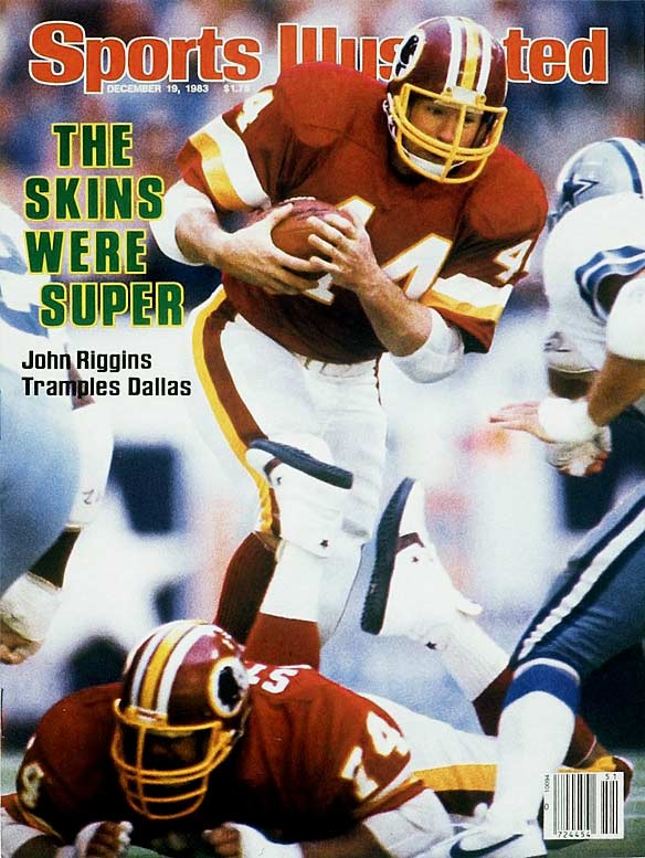 Forever known (thanks to NFL Films) for his 43-yard touchdown run in Super Bowl XVII – he was the MVP with a then-record 38 carries for 166 yards -- the iconoclastic back had 11,352 rushing yards over 14 seasons.Runner-up: Chuck ForemanWorthy of consideration: John David Crow, Elbert Dubenion, Floyd Little, Leroy Kelly, Dick LeBeau, Kyle Rote, Pete Retzlaff