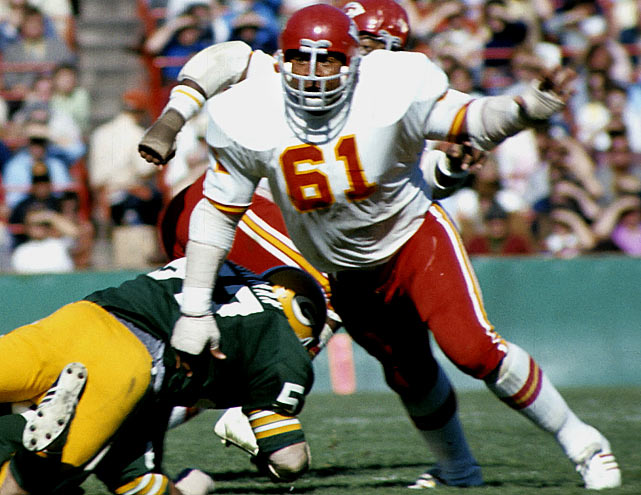 Culp was a forerunner of the ''nose guard'' position, and starred on the Chiefs and Oilers lines in the '70s.Runner-up: Bill GeorgeWorthy of consideration: Tim Ruddy, Nick Hardwick, Nate Newton, Blaine Nye, Jesse Sapolu