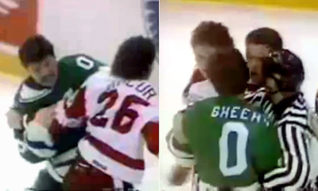 The story goes that when Sheehy's family emigrated from Ireland, their name was O'Sheehy. Neil, who spent six seasons in the NHL (1984-91) and is the only player to wear this number, figured it was the best way to get the O' back.