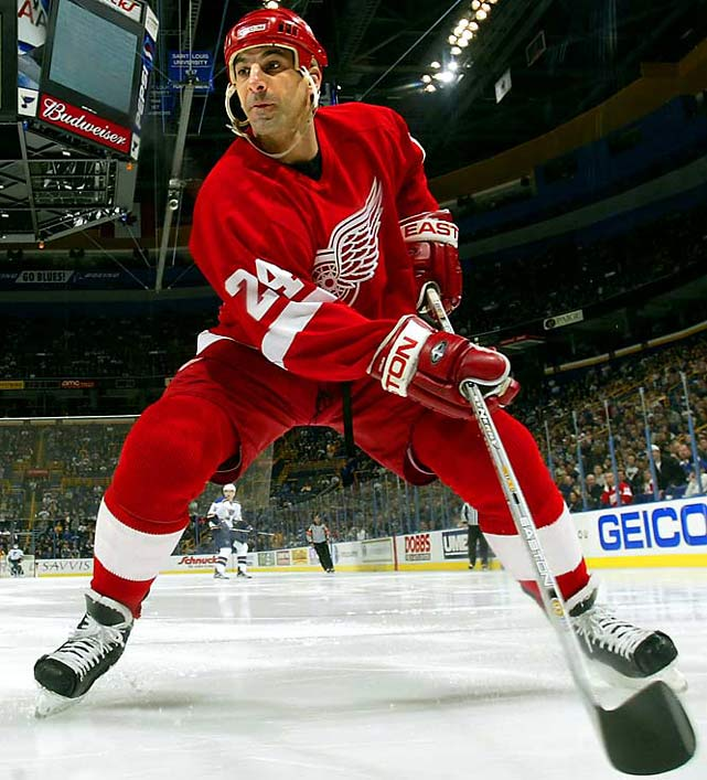 We thought he'd never go quietly into that good night, but he finally did at 48, as the longest-tenured blueliner (26 seasons) in NHL history, taking his three Norris trophies and three Stanley Cups with him.