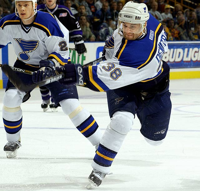 The veteran pivot had 304 goals (including three seasons of 35-plus) and 768 points as of the 2010-11 season.