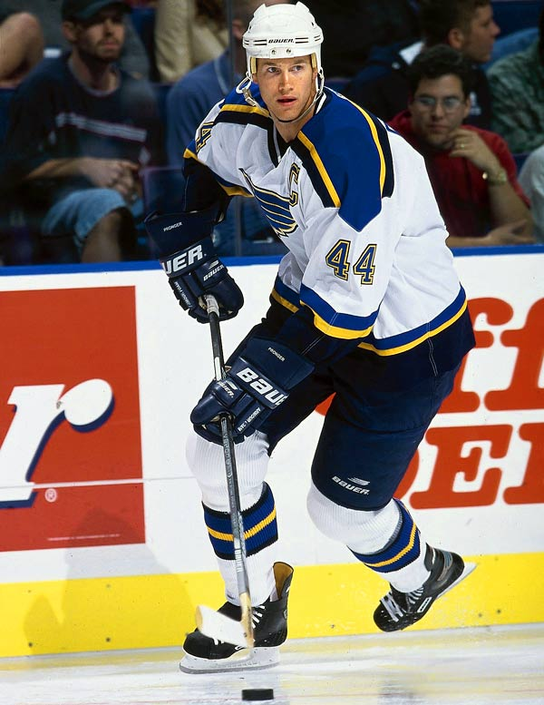 The certain Hall of Famer wore 44 for Hartford, St. Louis and Edmonton until being dealt to the Ducks in 2006.