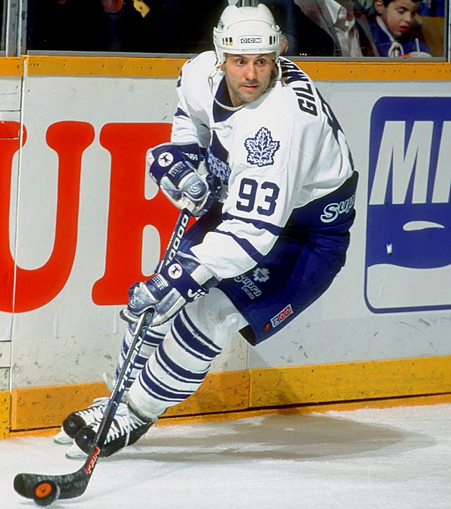 It's tough to remember that he first wore 18 with the Blues (1984) and 39 with the Flames (1989-92). Killer carved out an arguably Hall of Fame career with a pair of 110-plus points seasons in Toronto and the 1992-93 Selke Trophy as the league's best defensive forward.