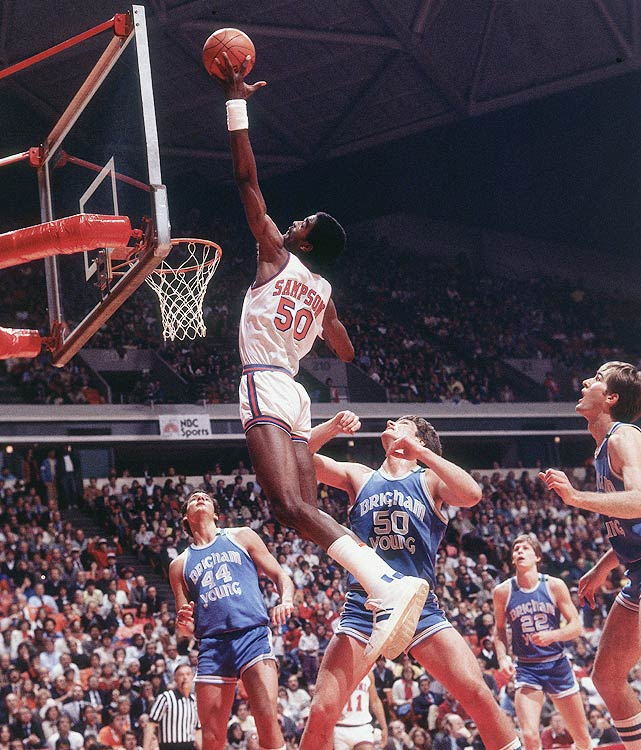 The ACC Rookie of the Year in 1980, Sampson was a dominant force on the boards and in the paint even as a 19-year-old. He averaged 14.9 ppg, 11.2 rpg and 4.6 bpg (the latter two of which led the ACC), and he powered his Virginia team to the NIT championship.