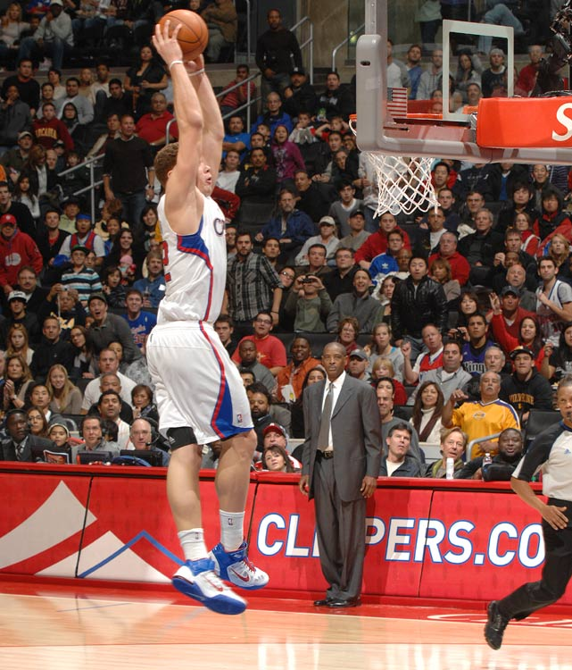 Few players enter the league and dominate from the start, but the handful that do leave lasting impressions. Take, for example, Blake Griffin, who currently leads all rookies in points and rebounds while also stringing together the longest rookie double-double streak since 1968. Even more impressive, Griffin has made Clippers games must-see TV with his highlight dunks and miraculous alley-oops.But Griffin isn't the only rookie to have taken the league by storm. Click through our gallery and check out the NBA's greatest rookies of all time in reverse chronological order.