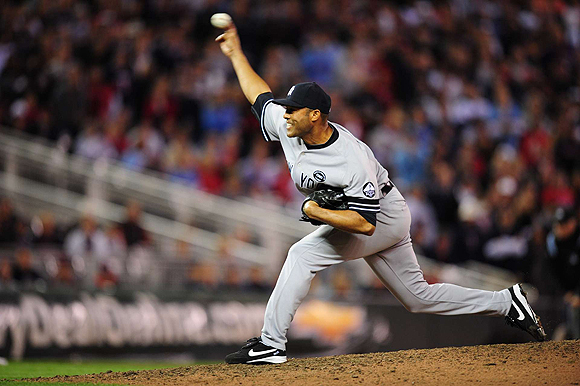 He's had a prolific career as a Yankee so far--559 career saves (he only needs 43 more to surpass Trevor Hoffman for most ever) and led the league in saves three seasons during his 16 years in the majors. Batters beware--his dominance on the mound doesn't stop there. Last season he stifled opponents, holding them to a .183 batting average and only allowed 39 hits. Since 2005 the former World Series MVP has posted a 1.88 ERA and a strikeout-to-walk ratio of 5.76:1.