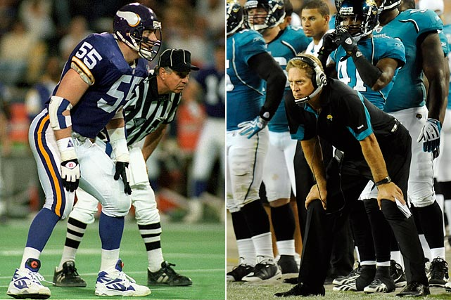 A ferocious linebacker in his playing days, Jack Del Rio brings the same intensity to the sidelines as the head coach of the Jacksonville Jaguars. On the hot seat for the last several years, Del Rio has two years remaining on his contract.