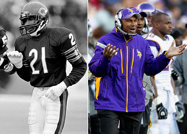After a knee injury ended his career prematurely, Leslie Frazier moved to coaching, starting at Trinity College before breaking into the NFL coaching fraternity with the Philadelphia Eagles in 1999.  Frazier was long hailed as the next great head coach and in 2011 he got his chance when the Minnesota Vikings removed the interim head coach label from his title.