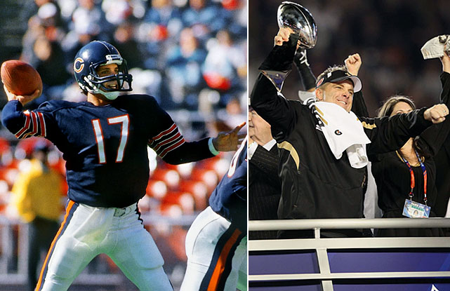 Unlike other coaches on this list, Sean Payton was never drafted by an NFL team. He toiled in the AFL and CFL before catching on with the Bears during the 1987 NFL players strike. His road to a head coaching job was less circuitous, as he rose from quarterback coach to head coach in less than 10 years.
