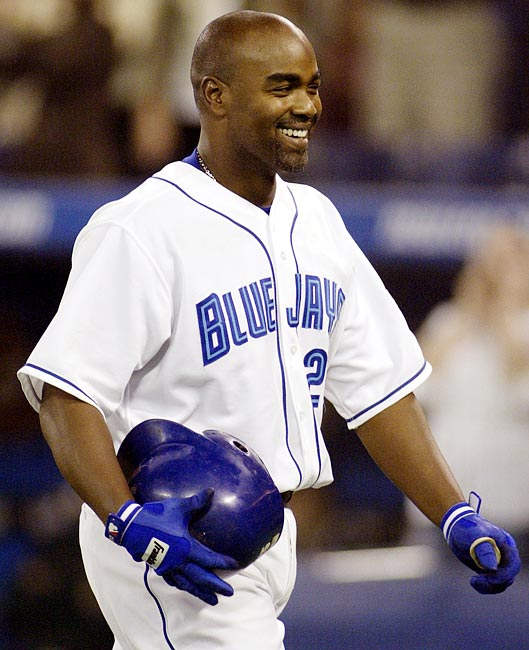 Fifteen players have accomplished the feat, including Lou Gehrig and Willie Mays. The most recent occurrence came in 2003 when the Blue Jays' Carlos Delgado did it against Tampa Bay in 2003. Shawn Green and Mike Cameron both did in 2002. Green set a single-game record with 19 total bases while Cameron nearly came up with the record-breaker in his fifth and final at-bat, hitting one to the warning track.