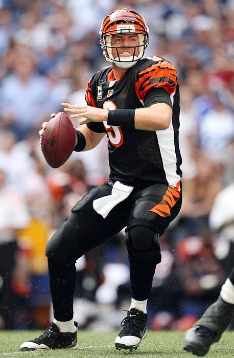 The Heisman Trophy winner became one of the league's star QBs and led Cincinnati to the postseason, but Palmer and the Bengals could be headed for a messy divorce. Palmer led the NFL in touchdown passes during his third season, and he made the Pro Bowl in 2006 and 2007. But he seemed to regress on the playing field and despite a resurgence in 2010, requested a trade out of Cincinnati, threatening to retire if he didn't get his wish.