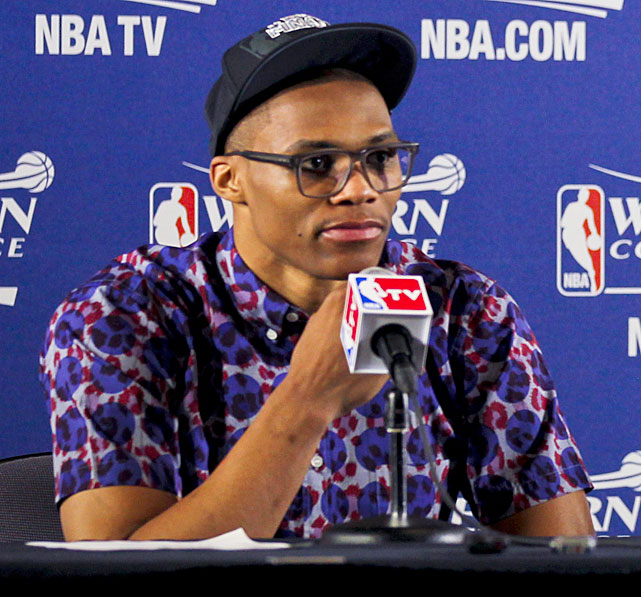 With a unique mix of athleticism, ball control and big shot ability, Oklahoma City guard Russell Westbrook has become one of the NBA's top players on the court. He has also become a star off it due to his unique wardrobe choices. As the Thunder prepare for the NBA Finals, SI takes a look at Westbrook's somewhat questionable fashion sense.