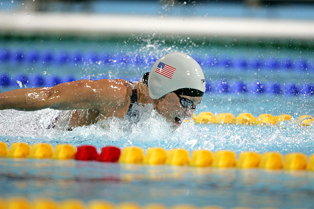 Thompson, the second swimmer and second American on the list, disappointing in her initial Olympics in which she was favored to win five gold medals.  After her final Olympics in 2004, at the age of 31, she had collected eight gold medals, three silver and one bronze.