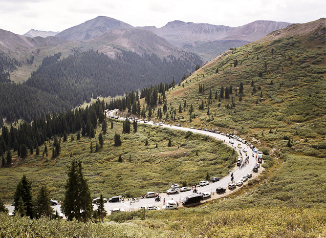 The race traced its way through some of Colorado's most beautiful scenery.