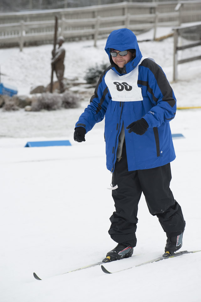 Ethan Kowena (age 14, Flagstaff, Arizona) will compete in cross-country skiing.