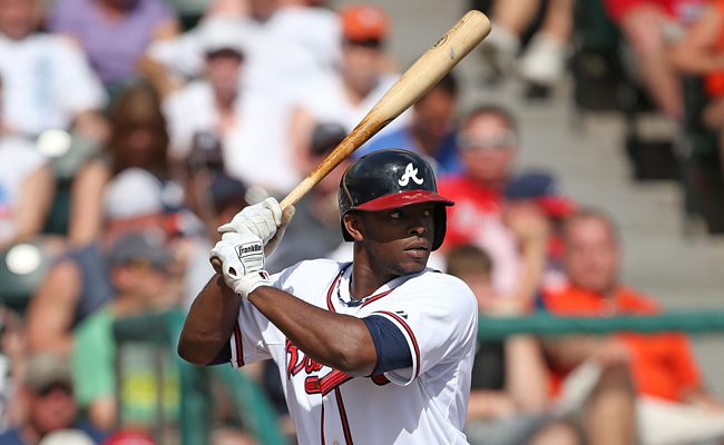 Justin Upton Braves Batting