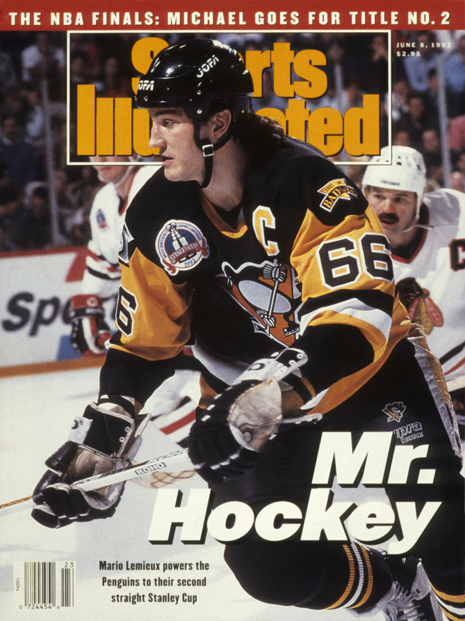 Expectations were high in Pittsburgh when the perpetual basement-dwellers Penguins drafted Mario Lemieux first overall in 1984. It would take a few years, but Le Magnifique lived up to his reputation. He led the Pens to back-to-back Stanley Cups, collecting two Conn Smyth Trophies in the process. His 1.607 points per game in the playoffs is good for second all time. Lemieux added another Cup to his resume in 2009, this time as the owner of the Penguins.