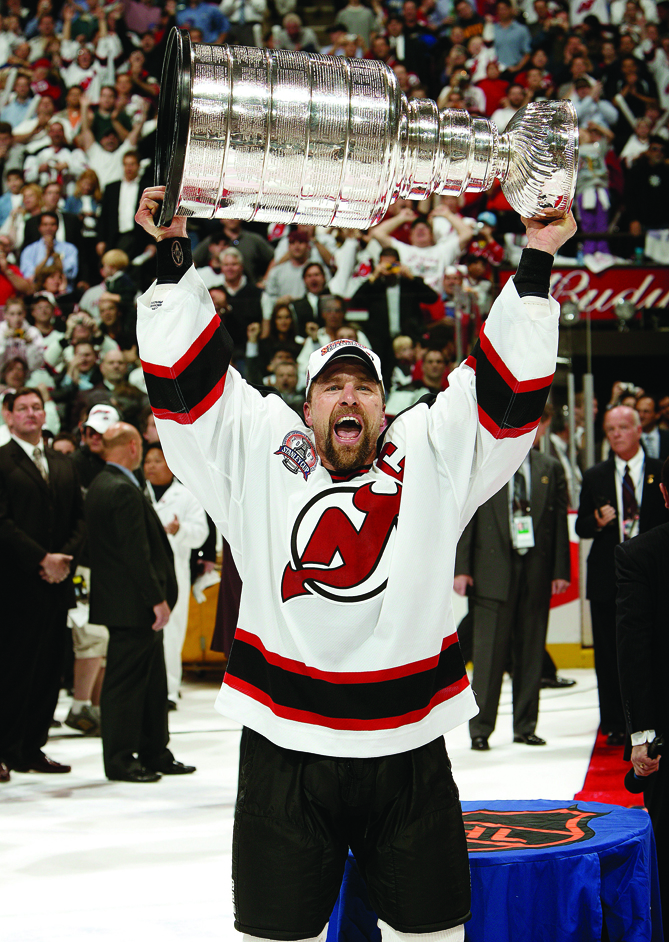 Scott Stevens began his career in Washington, playing eight seasons for the Capitals. But it wasn't until the aggressive defenseman went to New Jersey that he could call himself a champion. Stevens captained the Devils to three Stanley Cups (and earned the Conn Smythe Trophy in 2000), leading a hard-hitting and suffocating defense that defined an era of hockey.
