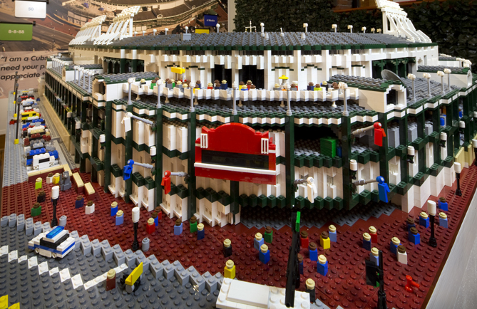 """Now through September 2, the Louisville Slugger Museum & Factory is home to 222,180 LEGO bricks in the shape of ballparks, sculptures of baseball players, and portraits of superstars.""""We feel like it's a merging between two great traditions that have blossomed over the years, not just survived but thrived over the years: LEGO and baseball,"""" Anne Jewell, executive director of the museum, says. """"Baseball is a fun game. LEGO is fun. So to interpret this national pastime with these beloved LEGO bricks is what we call this great double play together.""""If you can't make it to Kentucky this summer, don't fret. You can take a virtual tour of the exhibit by clicking through this slideshow!"""