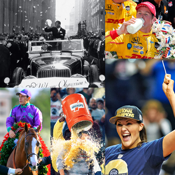 These iconic traditions seem like they've always been a part of sports in America. But how did they really begin?