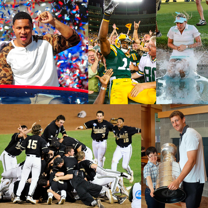 Five athletes share, in their own words, what happened after they reached major milestones in their sports. (Interviews by Greg Bishop, Sam Page, Coleman McDowell, Ben Baskin, Mark Bechtel)