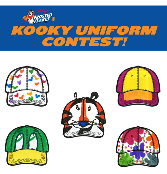 This summer, we asked you to send in some of the kookiest uniform ideas you could think up. And you didn't disappoint! We got a TON of entries, and we loved looking at them all. But we could only choose five winners, and these are the kookiest of the bunch! Congratulations!