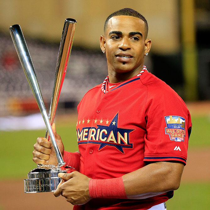 Two-time Home Run Derby participant; two-time champion
