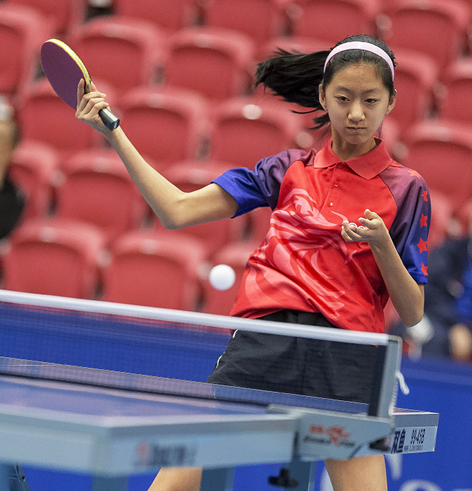 Amy Wang becomes one of the youngest competitors to ever make the U.S. women's national table tennis team. The 12-year-old, who began playing the sport at the age of four, was also part of the team that took gold at the 2015 North American Championships in Pleasantville, New York.