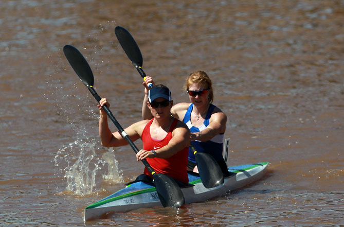 One of the best ways to cool down when summer temperatures soar is to explore in a kayak or canoe. Different shapes and sizes make it possible for friends and family to travel waterways together.