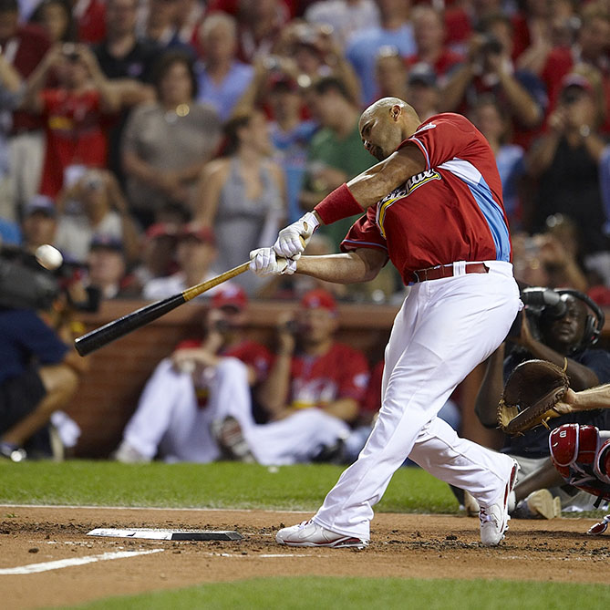 Four-time Home Run Derby participant (also competed with Angels)