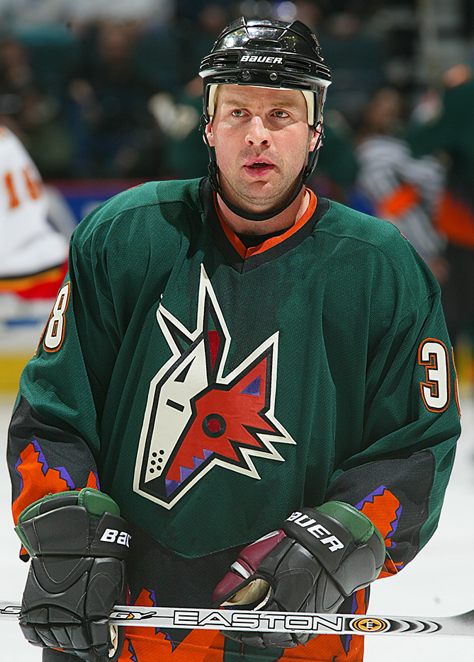 The team's abstract hockey-playing Coyote logo was bad enough. But Phoenix's third jerseys, which were green with trim that was supposed to evoke the desert, were even worse.
