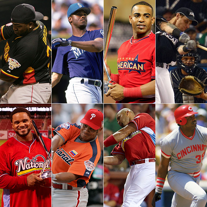 """This year marks three decades since Dave Parker outslugged a field of five Hall of Famers to win the inaugural Home Run Derby at the old Metrodome in Minneapolis. To celebrate, Kid Reporter Patrick Andres has put together a """"Dream Derby"""" of eight of the finest sluggers in the history of the event."""
