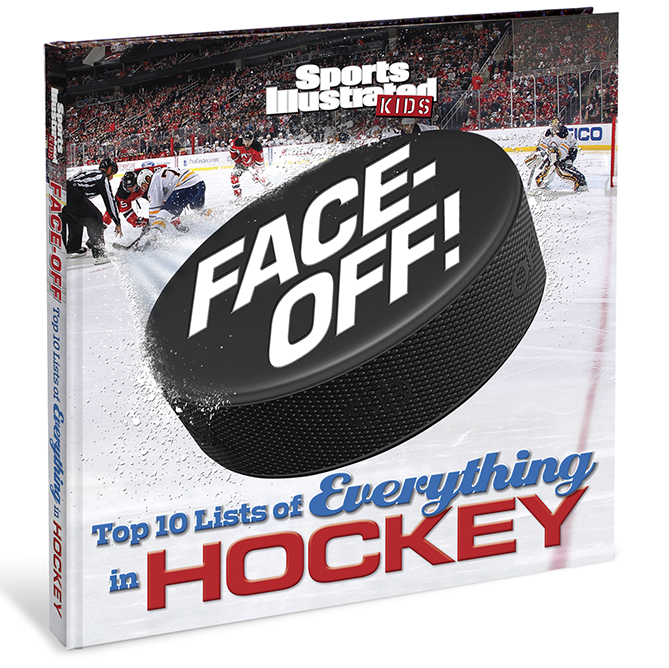 """For more great hockey lists, check out SI Kids' latest book, """"Face-Off! Top 10 Lists of Everything in Hockey."""" It's available in bookstores now, or you can order it at sikids.com/top10hockey!"""