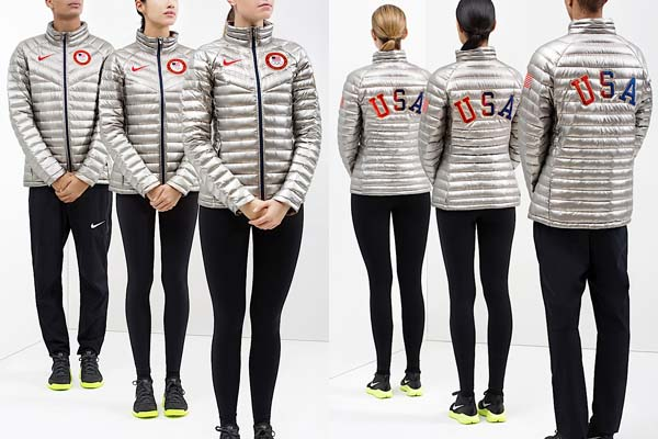 nike us medal stand look summit jacket. Lost in the run up to the NFL's  conference championship games was Nike's reveal of some Team USA Olympic  gear.