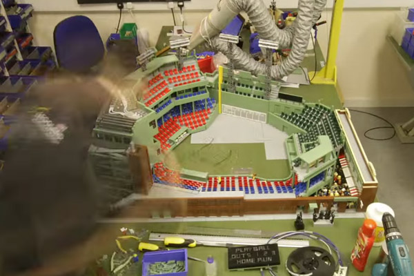 LEGO Fenway Park, from the Ground Up | SI Kids