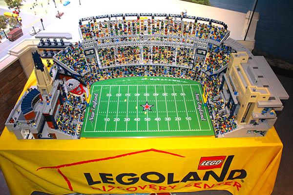 Gillette Stadium Gets Bricked | SI Kids