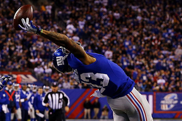 Giants Receiver Odell Beckham Makes the Catch of the Year? Decade? All Time?