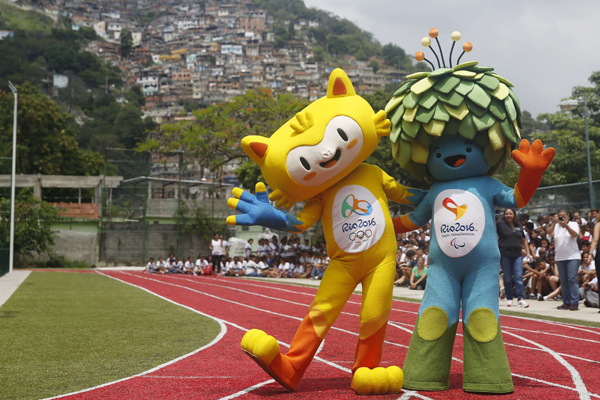 Meet the Mascots of the 2016 Rio Olympics then give them a name