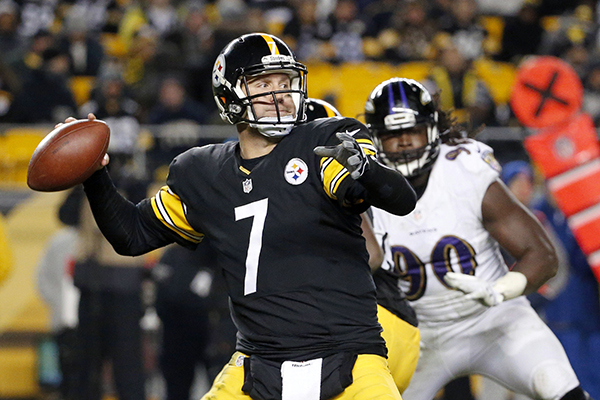 Ben Roethlisberger Back To 6 Touchdowns