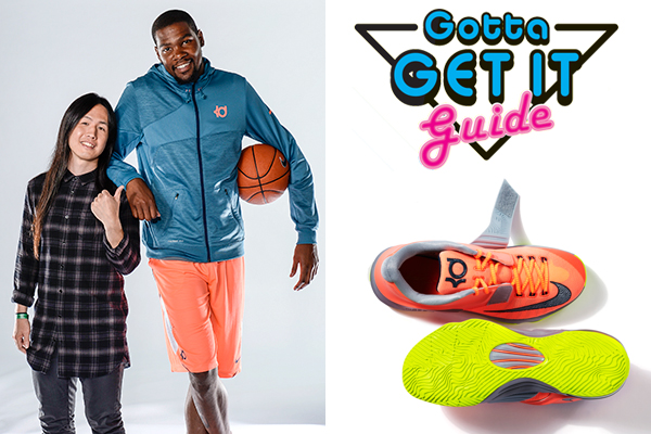 Kevin Durant Channels His Inner Designer and Tells Us About His Latest  Basketball Shoe  2e604a12f