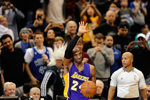 Kobe Bryant Passes Michael Jordan On All Time Points List