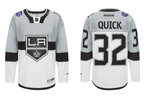 los angeles kings 2015 stadium series jersey. After the San Jose Sharks  showed off their Stadium Series sweaters earlier this ... 717506c99