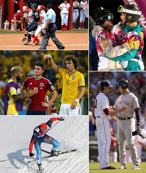 Five Great Moments Of Sportsmanship In 2014 Si Kids