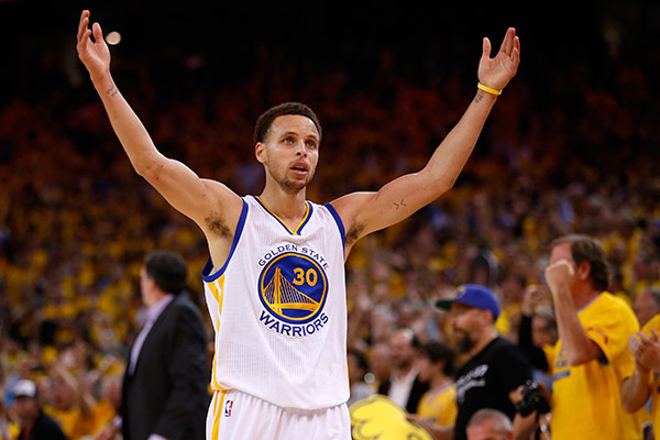 Golden State Warriors Stephen Curry Nba Finals 2015
