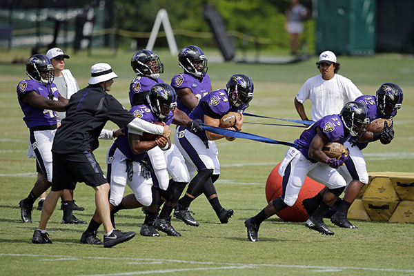 Attending Summer Camp with the Baltimore Ravens | SI Kids
