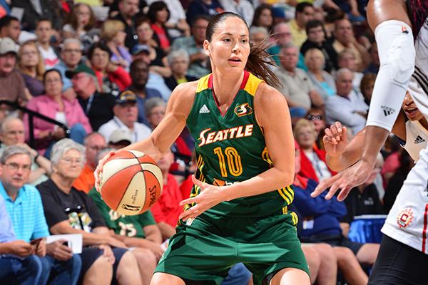 2774639a9da6 WNBA All-Star Sue Bird Passes A Milestone. Is It Her Last