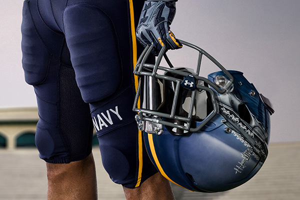 aa62bf7ae2d How Under Armour Created Navy s Cool New Helmets